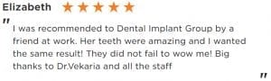 Review dental implant group